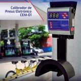 calibrador de pneus com manômetro