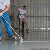 demarcação piso industrial