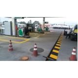 demarcação para postos de combustível Rio Grande do Sul