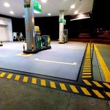 demarcação piso de postos Maceió
