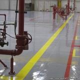 demarcação piso industrial Distrito Federal