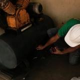 laudo técnico compressor de ar