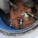medição volumétrica em tanque de combustível