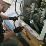 serviço de teste de fissuras completo em tubulações Florianópolis