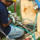 teste de fissuras em postos de combustível Belo Horizonte