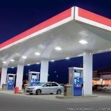 teste de fissuras em postos de combustível