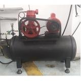 testes de funcionamento de vaso compressor Ceará