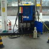 teste de vazamento para tanques de combustível