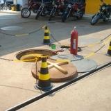 teste vazamento em tanques de combustível