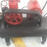 testes técnicos vaso compressor Rondônia
